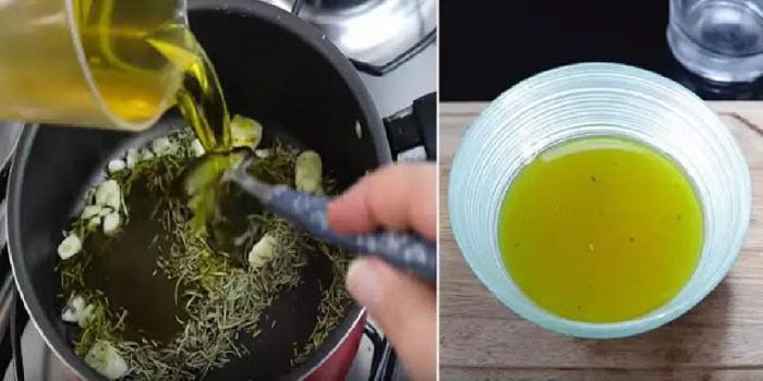 Impara a fare un olio che allevia i dolori muscolari e..