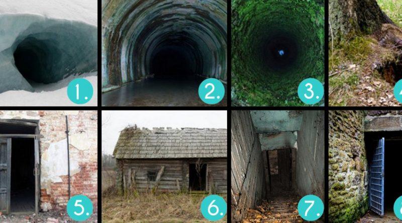 In quale di queste porte ti spaventa pi entrare scegli - Entrare in una porta ...